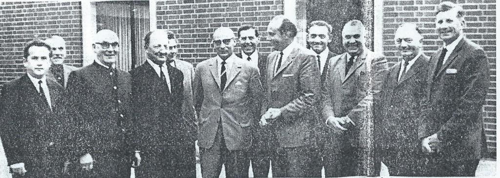 Mitglieder des letzten Wissersheimer Gemeinderates mit Vertretern der Stadt Erftstadt